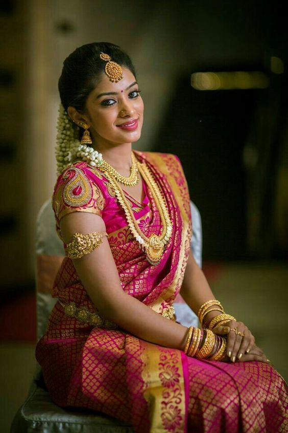 traditional south indian bridal blouse designs simple