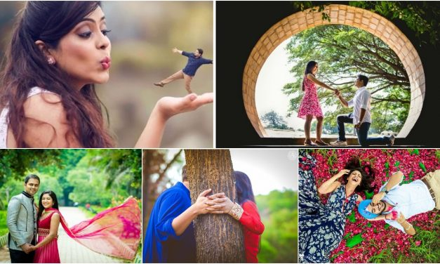 Romantic pre wedding shoot poses that everyone love to try