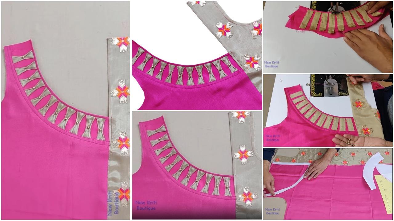 Kurti neck designs