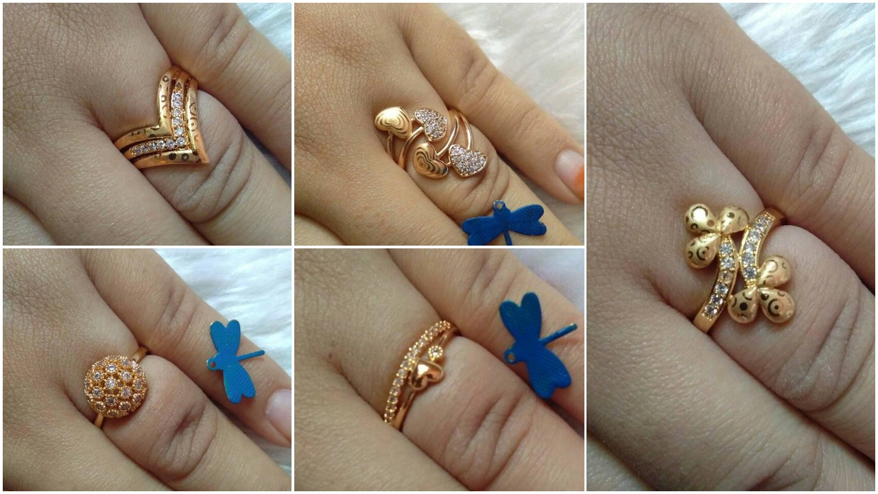 gold plated ring collections