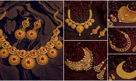 25 Latest gold necklace designs for women