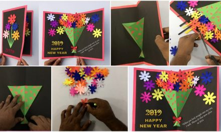 How to make greeting card for this new year