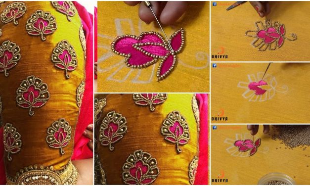 Aari work for blouse