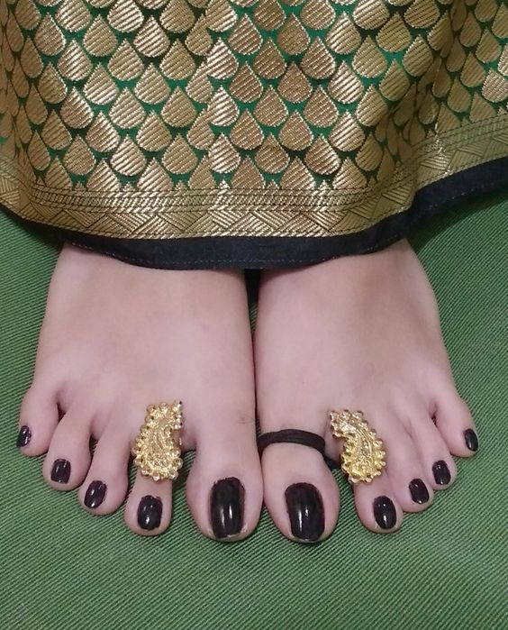 Beautiful Toe Ring Designs