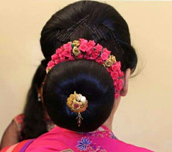 Indian wedding hairstyle