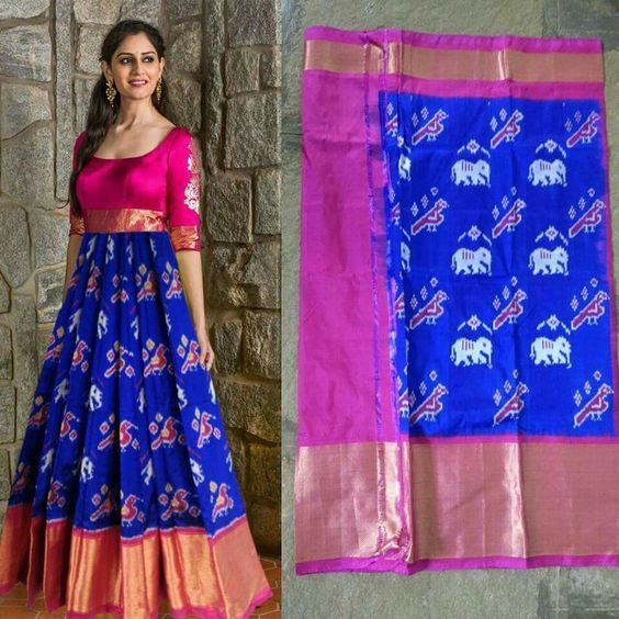 IDEAS FROM OLD SAREES