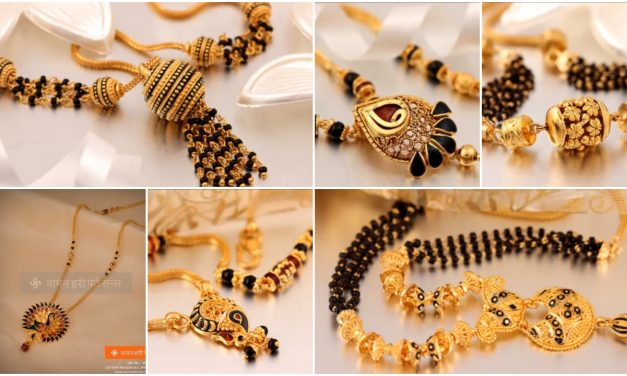 Beautiful gold mangalsutra designs