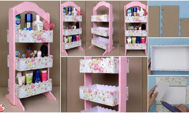 How to make space saving room organizer