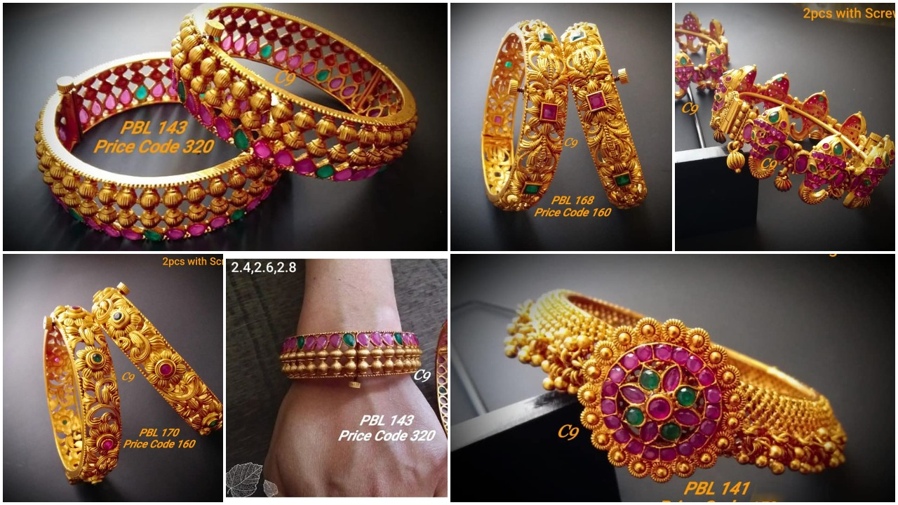 Latest gold bangles