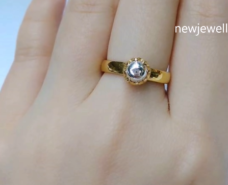 Gold Rings With Stone