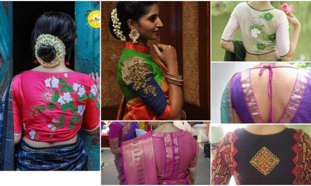Impressive blouse designs to flaunt this year