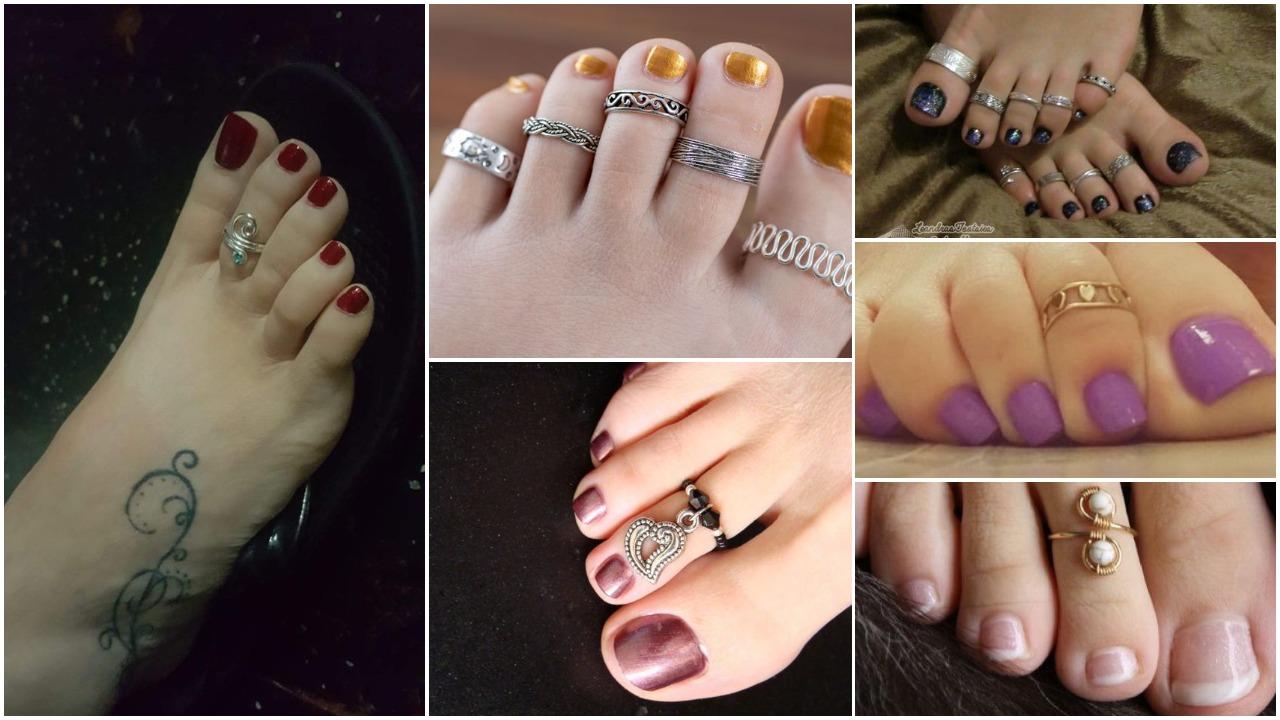 toe ring designs