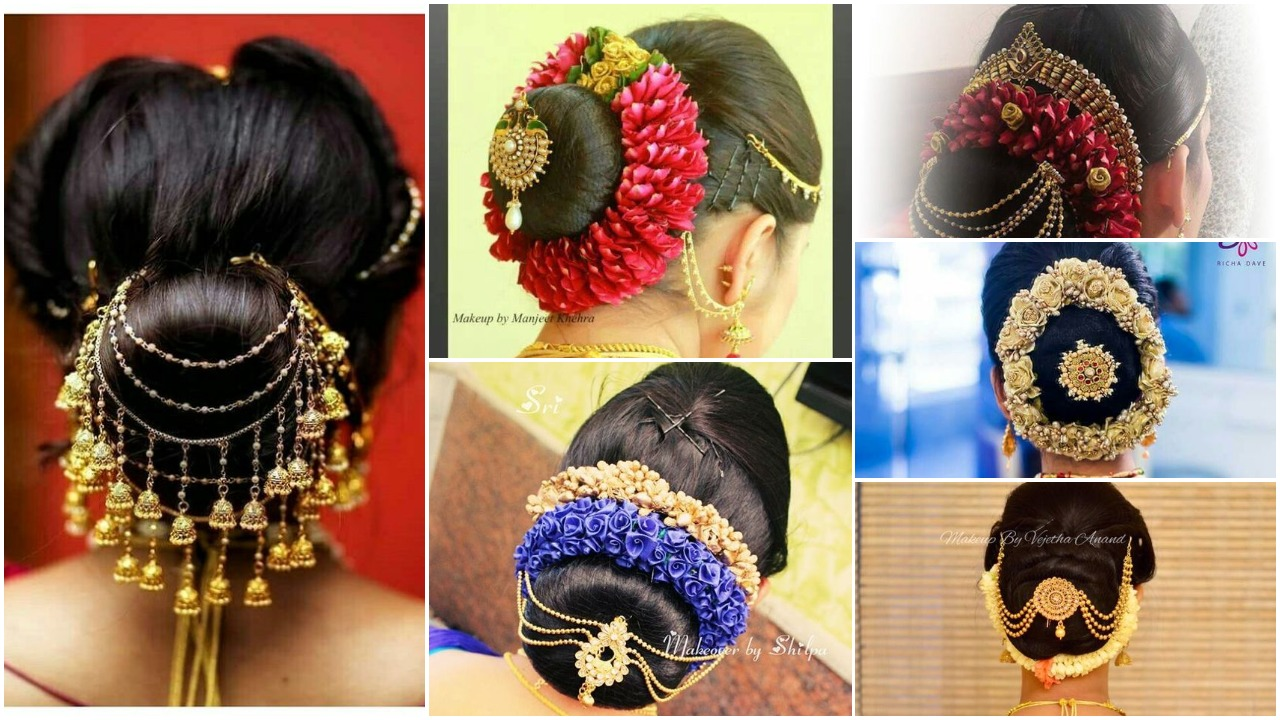 Gorgeous indian wedding hairstyle