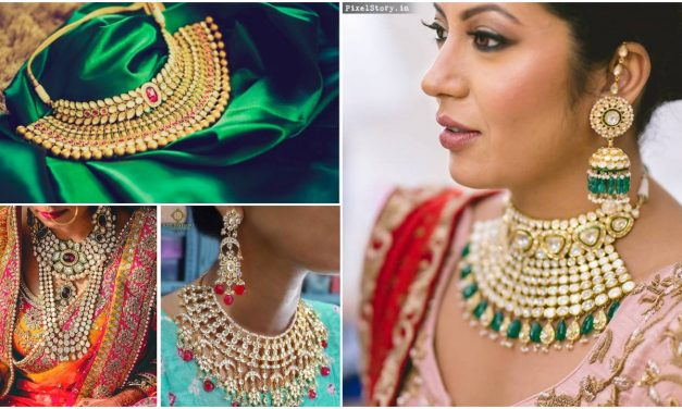 How to mix and match a kundan set for wedding