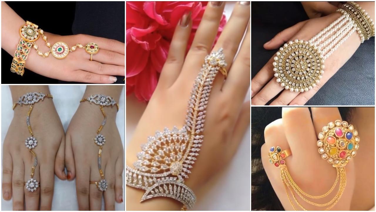 Beautiful ring bracelets designs