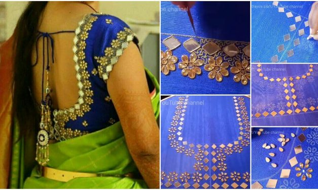 Most admired and attractive blouse designing
