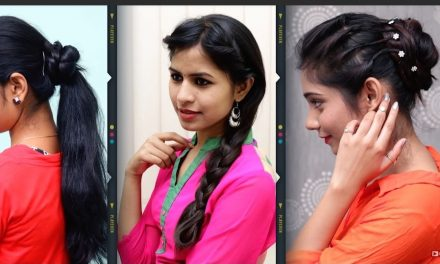 Different hairstyle for long hair girls