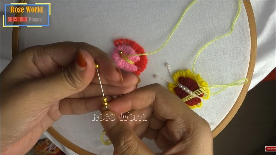 Butterfly Embroidery Trick