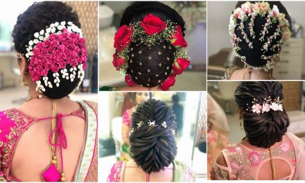 Gorgeous bridal bun hairstyles for every length