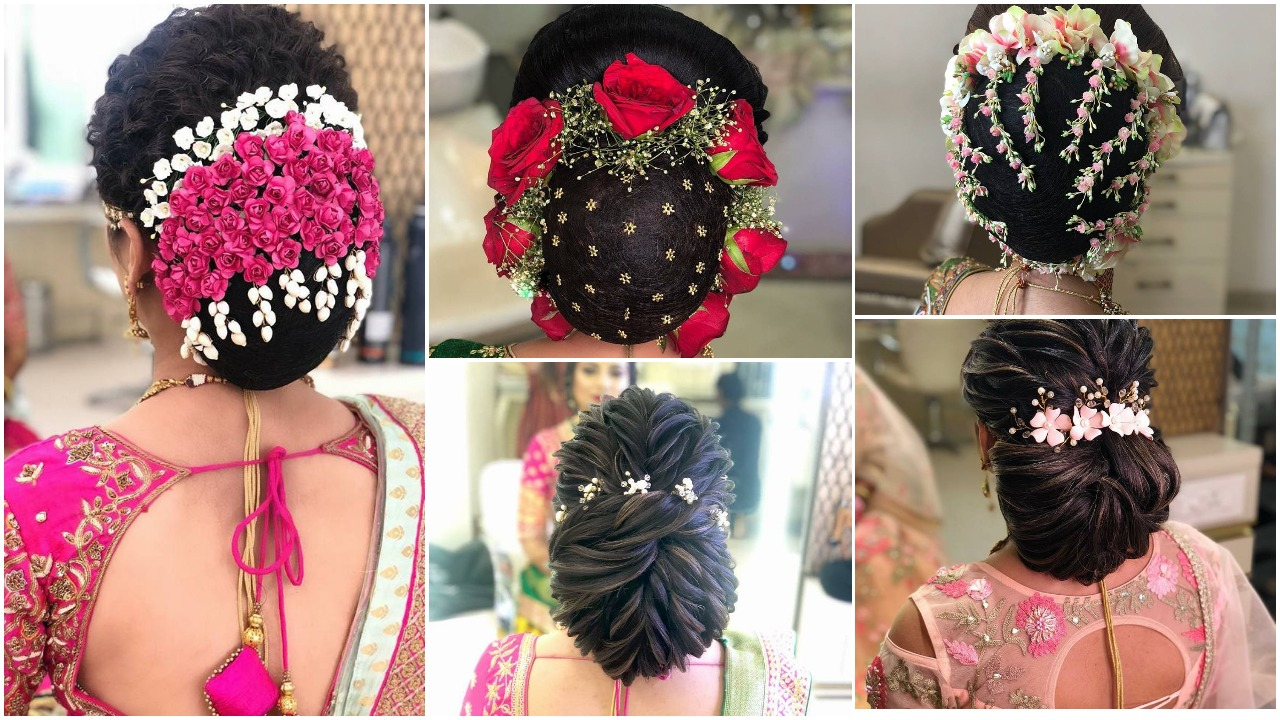 Gorgeous bridal bun hairstyles