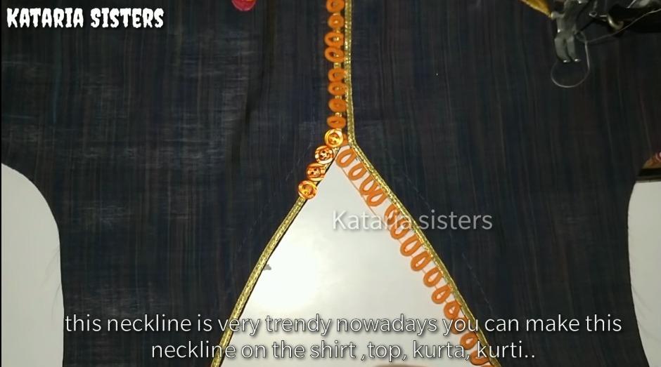 button loops neck design
