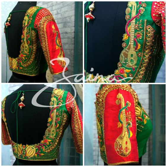 Musical instrument blouse