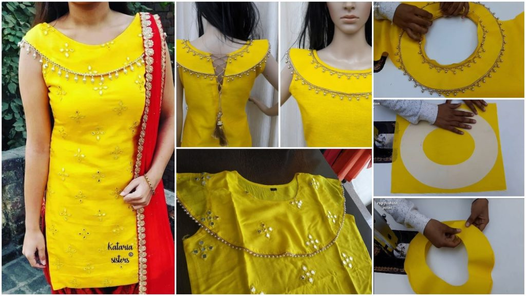 Party Wears Kurti Stylish Boat Neck Designs Simple Craft Ideas