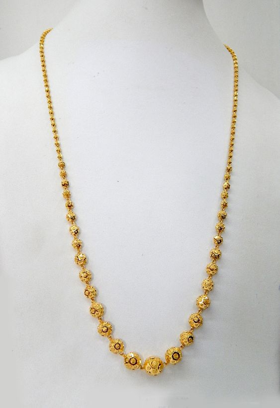 Light Weight Gold Necklace