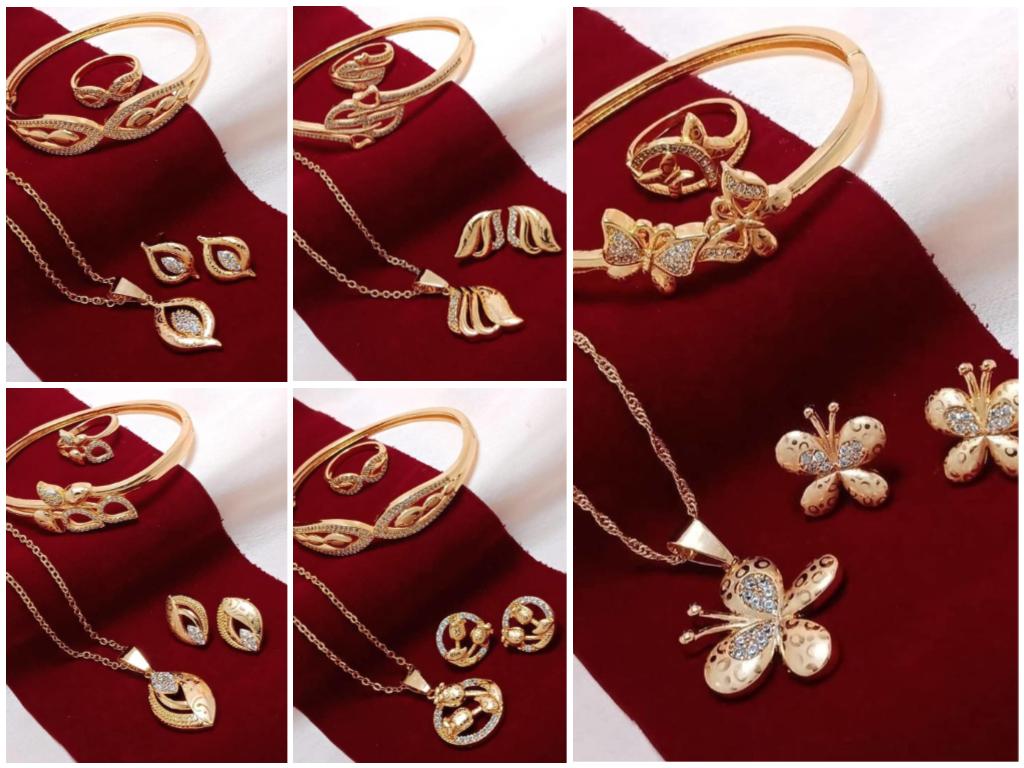 Chain with pendants bracelet