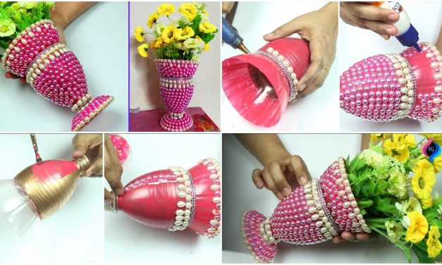 How to use plastic bottles for decoration