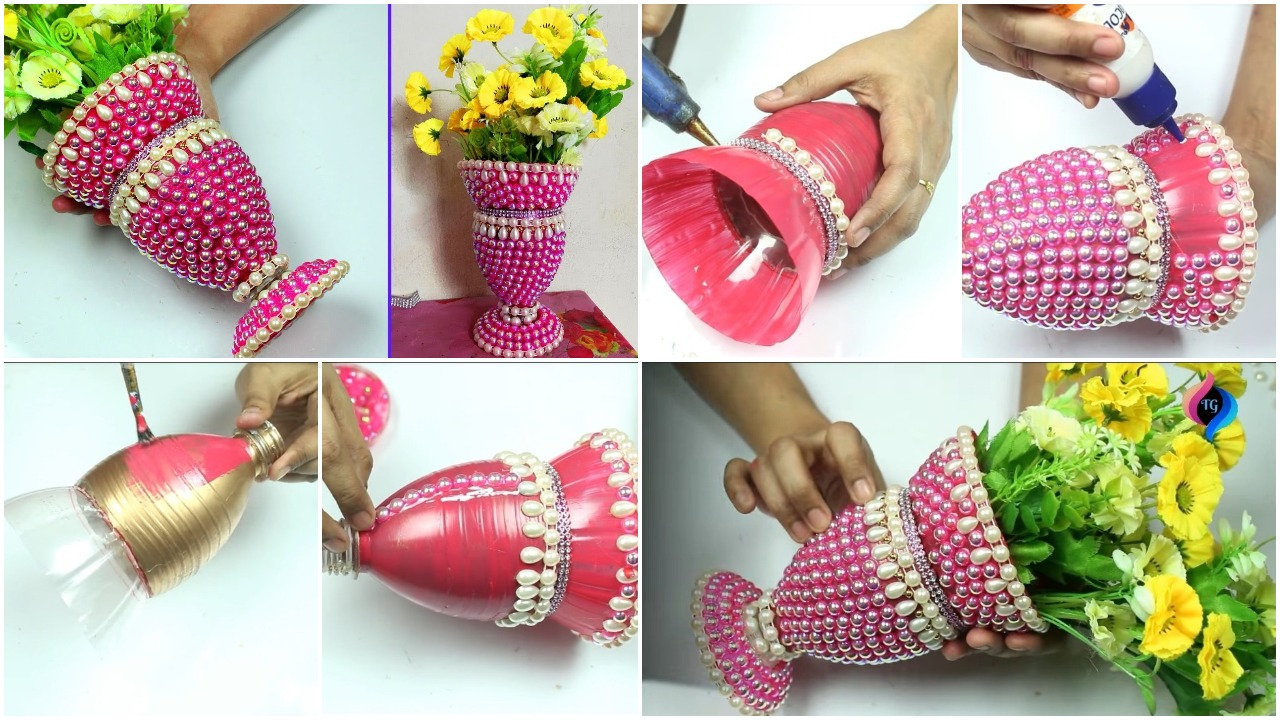 plastic bottles for decoration