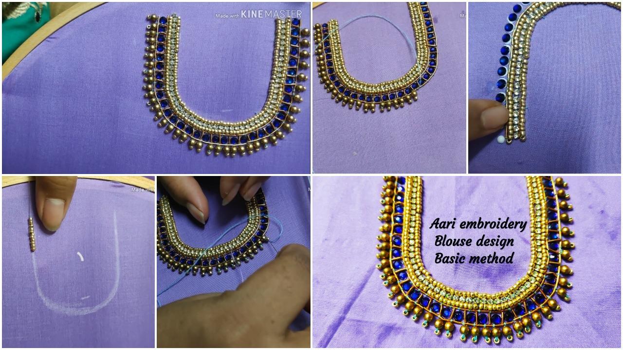 blouse design basic method