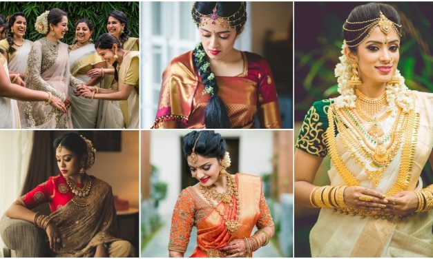 Brides who rocked a saree on their wedding day