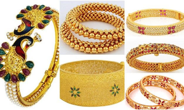 Latest designs of gold bangles in india