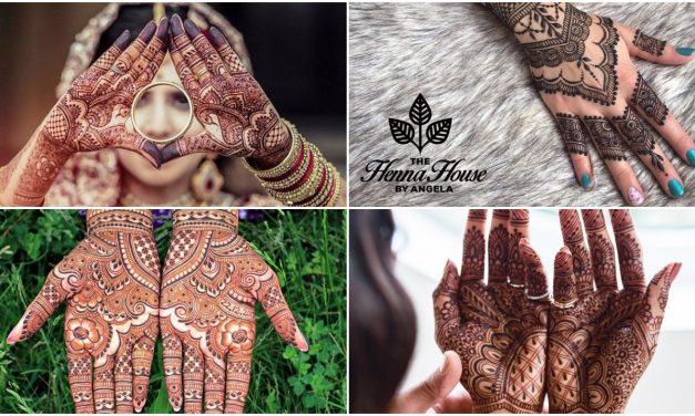 Variety and creative mehndi designs for brides