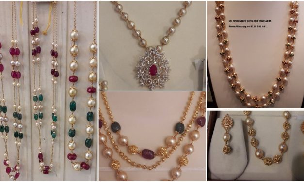 The complete pearl chain designs
