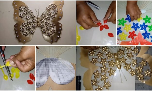 How to make decorative butterfly wall hanging