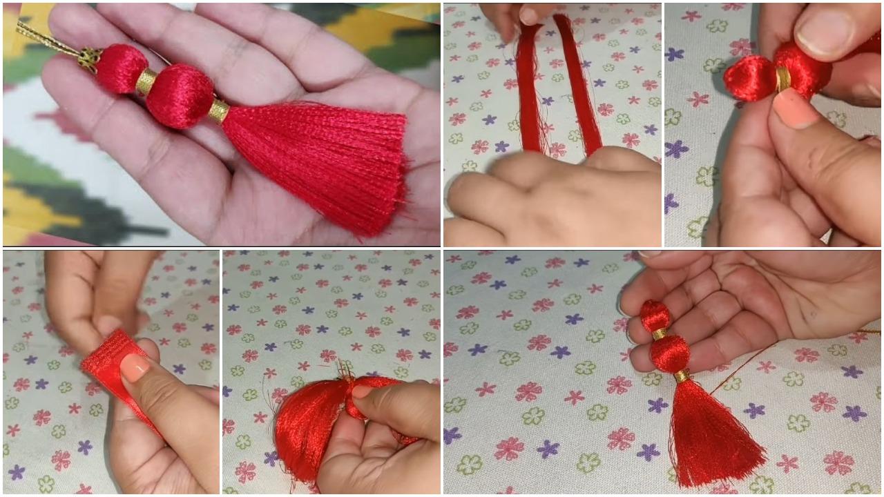 perfect decorative tassel