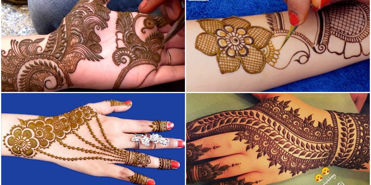 Simple and easy mehndi designs , Simple Craft Ideas