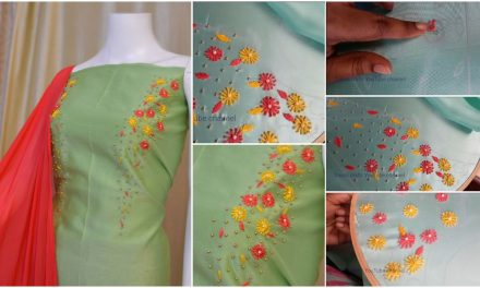 How to make design with attractive colours for kurti