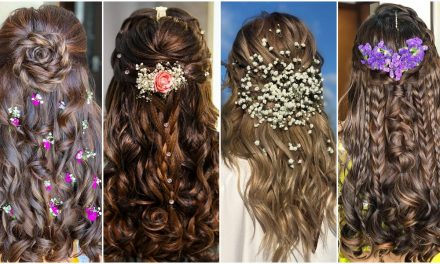 Open hairstyles for your mehendi ceremony