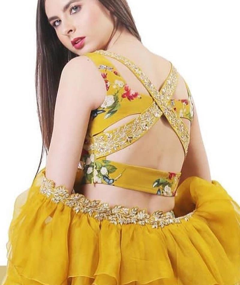 01f4a29426007e Lehenga blouse designs catalog - Simple Craft Ideas