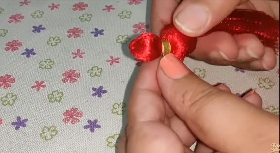 Tassel from Ribbon