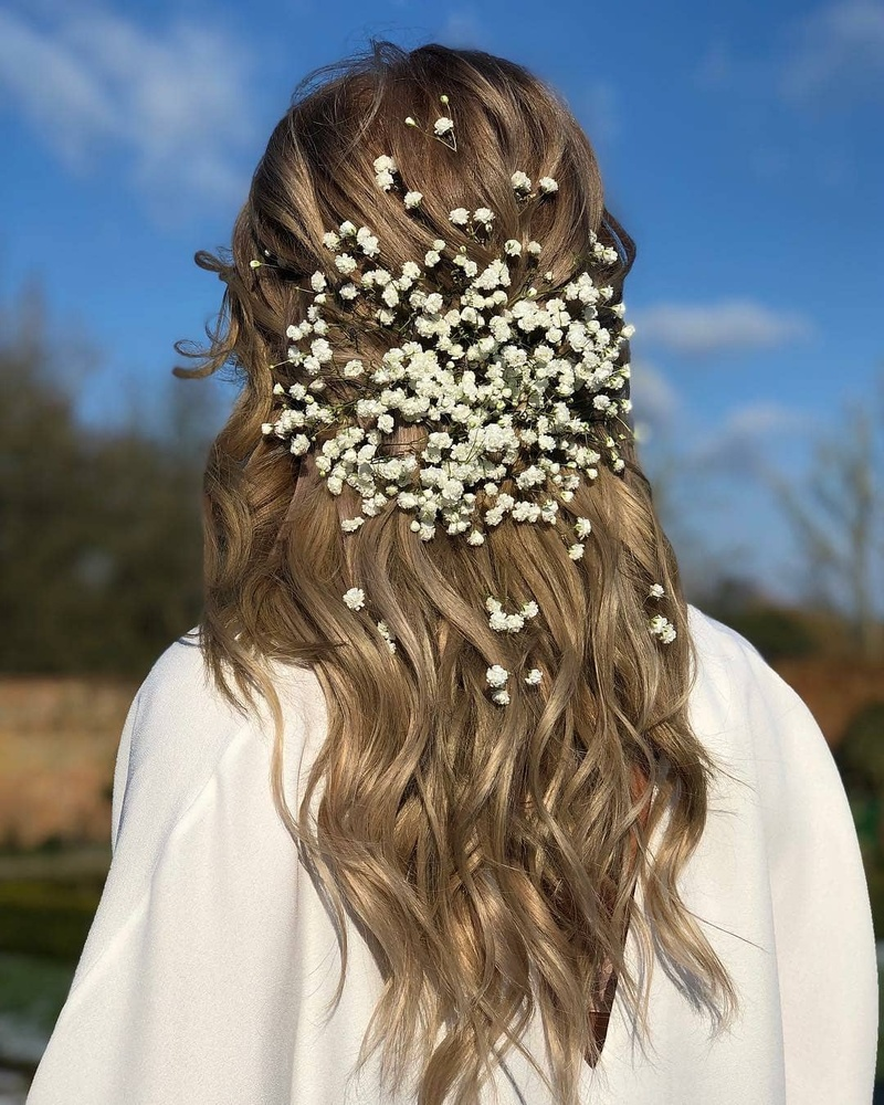 Open hairstyle