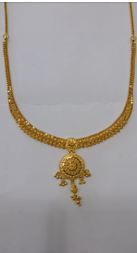 Stylish Gold Necklace