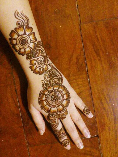 Simple Back Hand Mehndi Designs Simple Craft Ideas