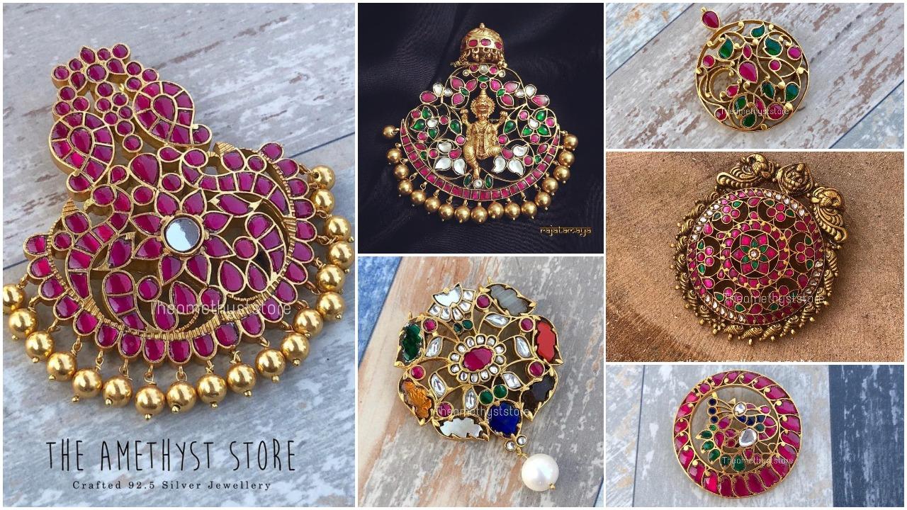 antique pendant designs