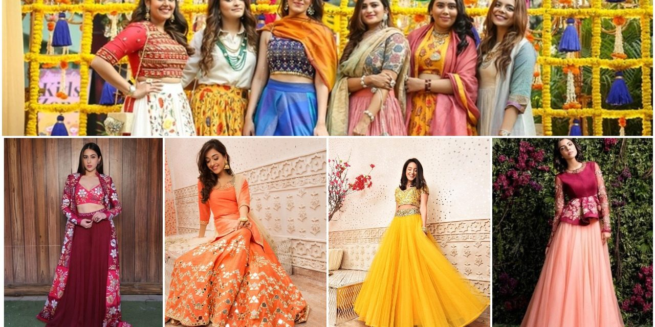 Major bridesmaids lehenga inpiration