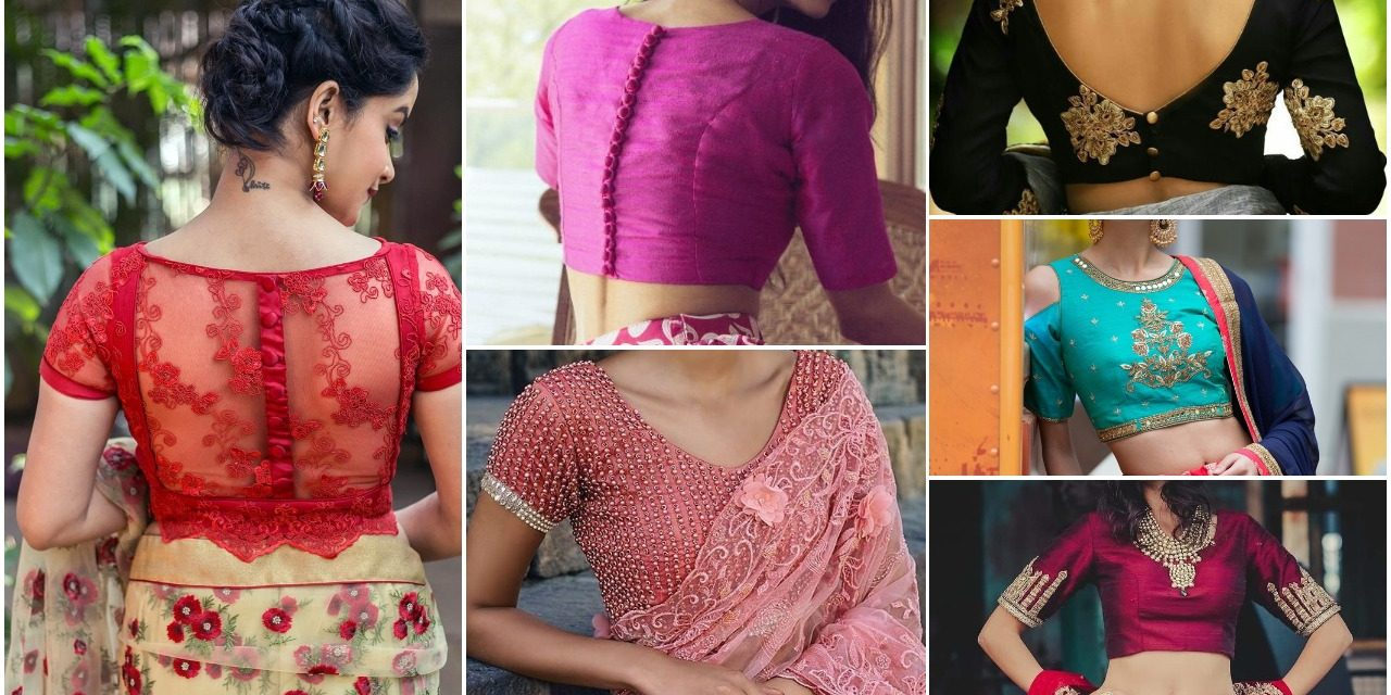 Simple blouse designs for your wedding functions