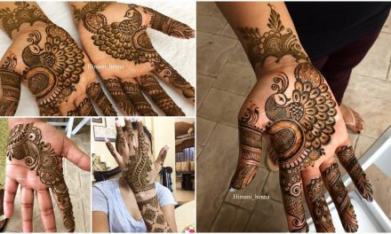 Simple floral mehndi henna designs for hands